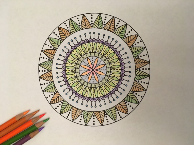 Colored Mandala Me