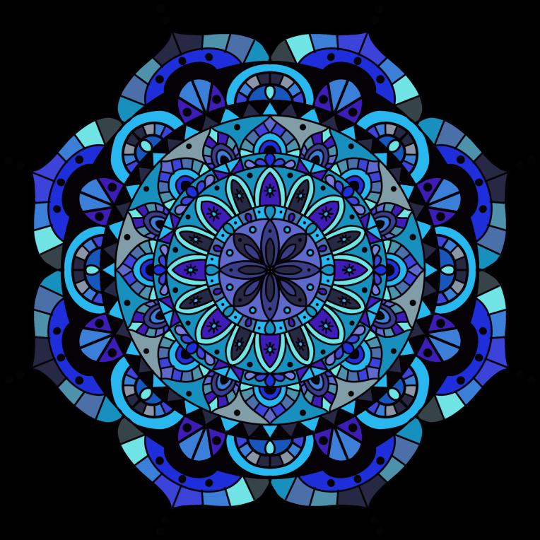 Mandala 6 Colored Procreate
