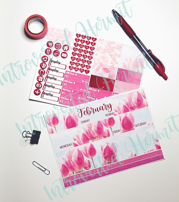 IH Feb Tulips Monthly Kit