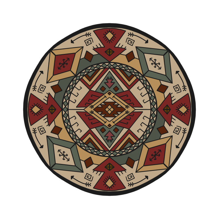 Mandala 25 Colored