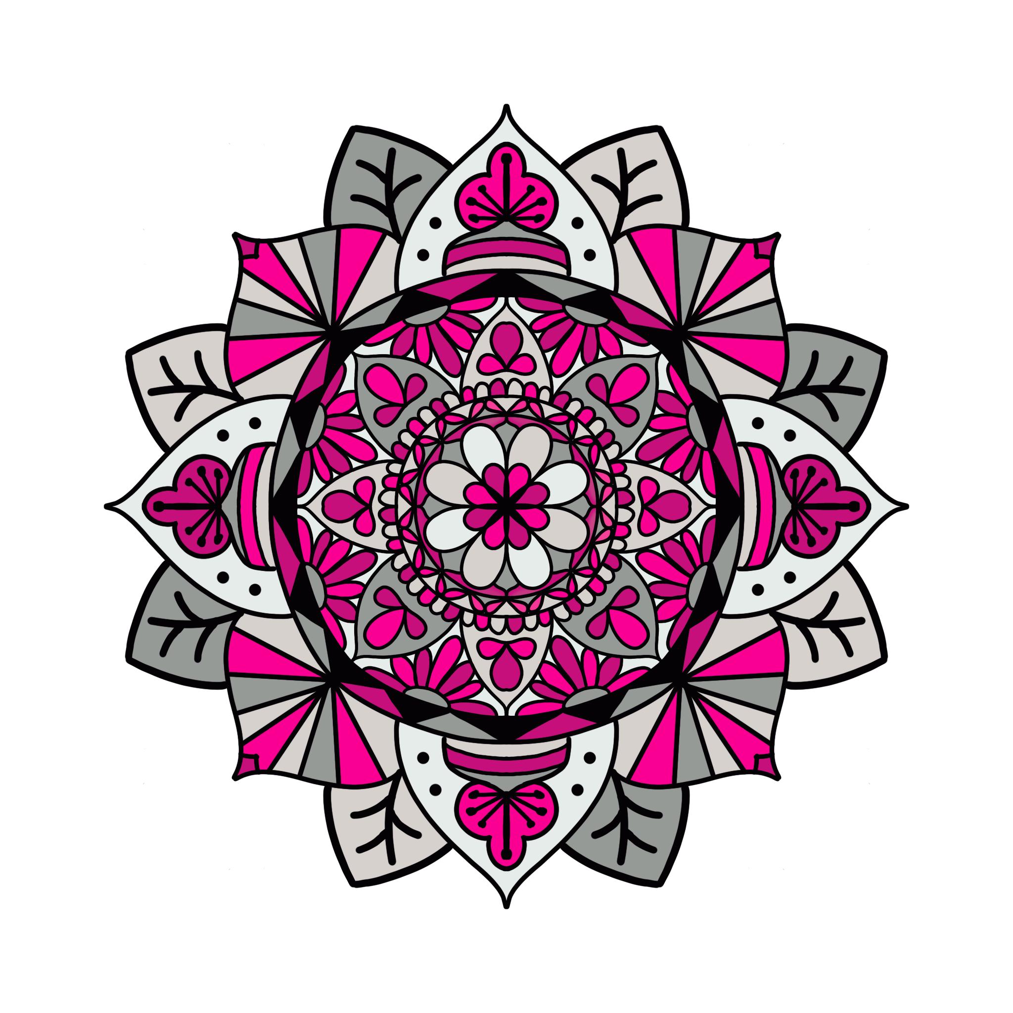 Mandala 30 Colored