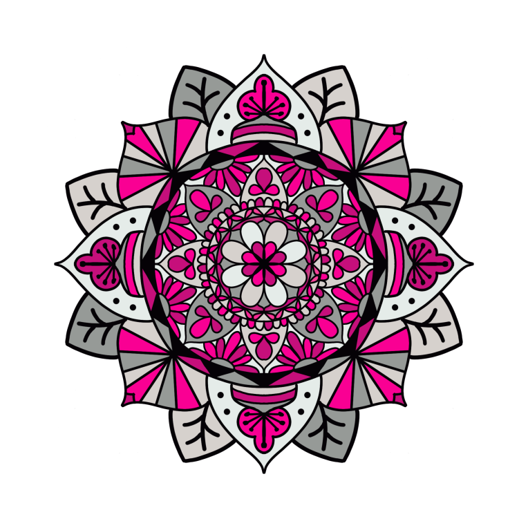 Mandala 30 Colored