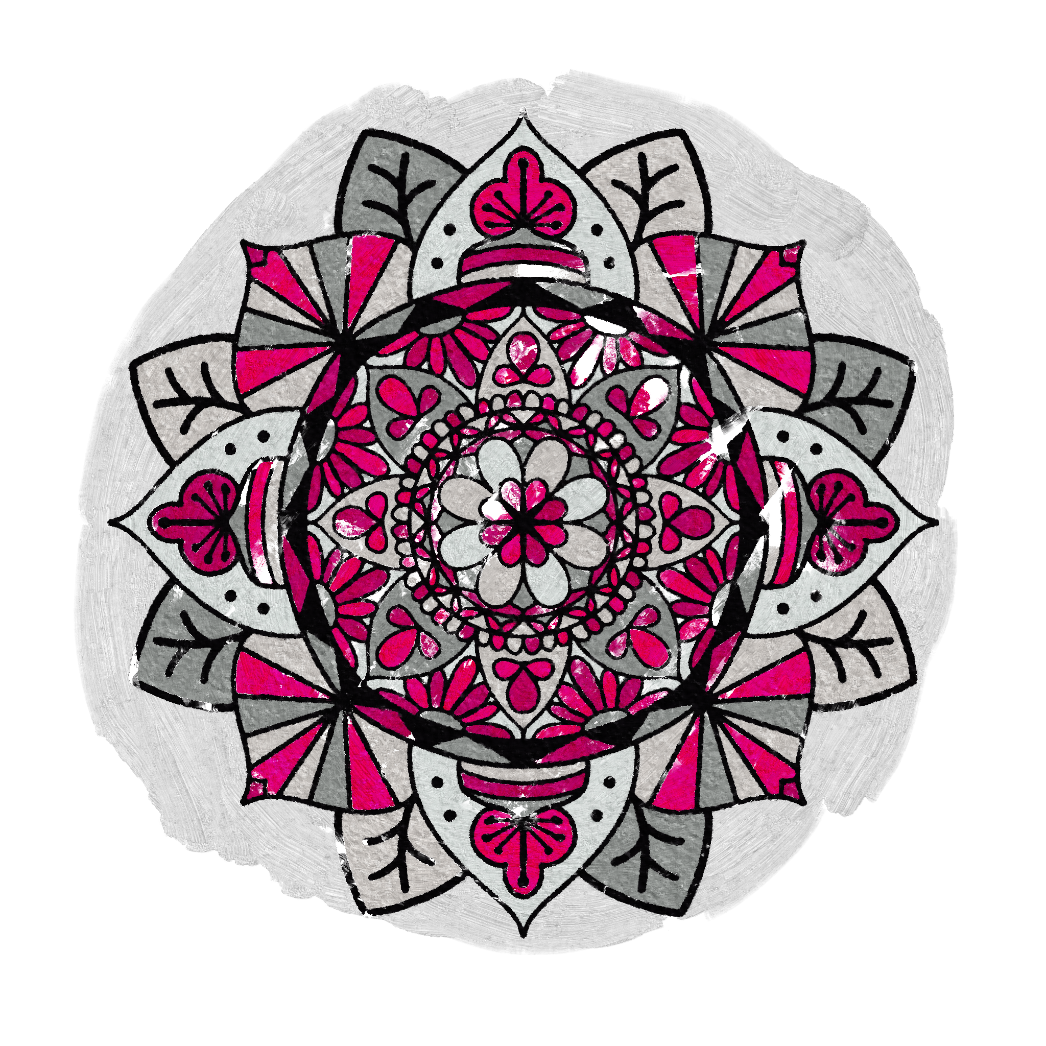 Mandala 30 Frescoed