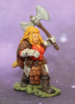 Female Dwarf Fighter
